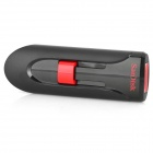 SanDisk Cruzer Glide CZ60 USB 2.0 Flash Disk Drive Memory Stick - Black + Red (64GB)