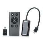 Micro USB To HDMI MHL Adapter w/ Remote Control for Samsung Galaxy Note + More (10cm-Cable)