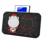 "Cute Dual-Monkey Pattern Mini Portable 2.6"" LED Digital Electronic Personal Scale - Black + Red"