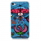 Cannibalplant Pattern Protective Front + Back Guard Film Protector for iPhone 4 / 4S