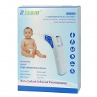 Rycom RC002 1.4'' LCD Electronic Non-contact Infrared Thermometer - White + Blue (2 x AA)
