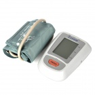 "Rycom BPA001 3.0"" LCD Electronic Blood Pressure Monitor for Upper Arm - White + Grey (4 x AA)"