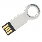 Key Shaped USB 2.0 Flash Drive - Silver (8GB)