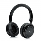 Hi-Fi Stereo Bass Bluetooth v2.1 Headphones w/ Microphone - Black
