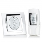 Forecum FK-923A 3-Channel Digital Wireless Home Appliance Remote Control Switch - White (200~240V)