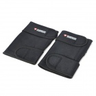 BOERDISI IR Infrared Magnetic Therapy Self-Heating Knee Pad - Black (Pair)