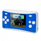 "2.5"" LCD Portable Game Console w/ Built-in Games - Blue + White (3 x AAA)"