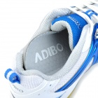 ADIBO AQA-1202S150-41 Professional Sport Anti-Slip Badminton Shoes - Blue + White (EUR Size 41)