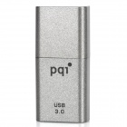 PQI U819V USB 3.0 High-Speed Flash Driver w/ Strap- Silver Grey (16GB)