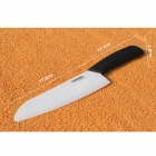 "RIMON AZ701-B Creative 7"" Zirconia Ceramic Chef's Slicing Bread Cooking Knife - Black + White"