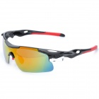 CARSHIRO 9358 Outdoor Riding Man Resin Polarized Lens PC Frame UV Protection Sunglasses Goggles