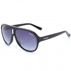 OREKA WG001C1 Fashion Men's UV400 Protection Sunglasses - Black