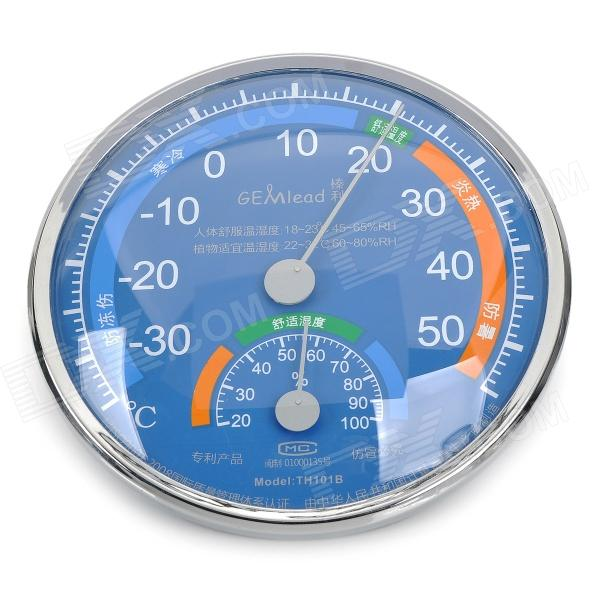 Gemlead TH101B Comfort Measure Thermometer + Hygrometer - Blue