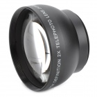 46mm 2.0X Telephoto Lens - Black