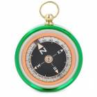 Outdoor Camping Hiking North Arrow Compass - Green