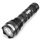 SDT-05 Rechargeable 35W 3200lm 3-Mode White HID Flashlight - Black