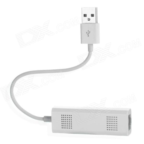 F8277 Portable 802.11 b/g Wi-Fi Express Adapter Network Card for Iphone / Ipad / MacBook - White