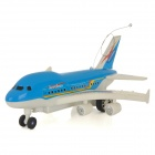 1698-F1 2-Channel 27MHz Radio Control Aerobus Toy - Blue + White (2 x AA)