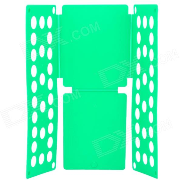 LR-02 Flip Clothes Shirt Folder Folding Board Organizer for Kids Children - Green