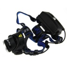 SingFire SF-536 Cree XM-L T6 800lm 3-Mode White Zooming Headlamp - Black + Silver (2 x 18650)