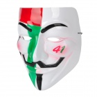 Colorful V for Vendetta ABS Full Face Mask