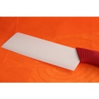 "RIMON AZ065-R Creative 6.5"" Zirconia Ceramic Chef's Slicing Cooking Knife - Red + White"