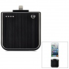External 1800mAh Power Battery Charger for iPhone 5 / iPod Touch 5 / iPod Nano 7 - Black