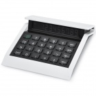 AQ429 Solar / Battery Powered 10-Digit Calculator w/ Backlight - White (1 x LR1130)