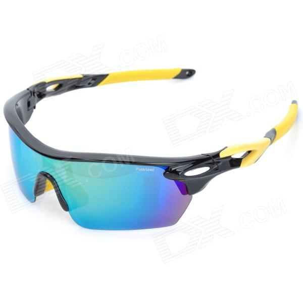 CARSHIRO 9369-1 Outdoor Riding Man Resin Polarized Lens PC Frame UV Protection Sunglasses Goggles
