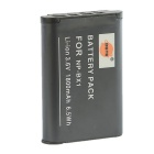 DSTE NP-BX1 Replacement 1450mAh Battery for Sony RX100 - Grey
