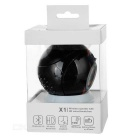 X1 Portable Bluetooth + EDR Rechargeable Wireless Speaker - Black