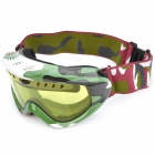 Panlees F16 Outdoor Sports Windproof Night Viewing Dual Lens Skiing Goggles - Camouflage