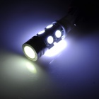 T10 5W 196lm 8-5050 SMD LED + High Power LED White Light Car Clearance Lamp (12V / 2 PCS)