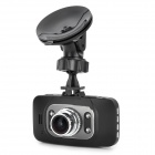 "CUBOT GS8000 2.7"" 16:9 LCD 5.0 MP Wide Angle Car DVR 1080p w/ G-Sensor / HDMI / AV-out / TF - Black"