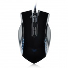 AULA Manum Cool 800 / 1200 / 1600 / 2000dpi USB Optical Gaming Mouse - Black