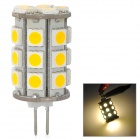G4 4W 486lm 27-SMD 5050 Warm White Light LED-Lampe (12V)