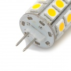 G4 4W 486lm 27-SMD 5050 Warm White Light LED Bulb (12V)