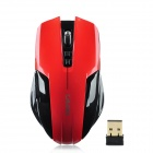 LingDu L-528 2.4GHz Wireless 1000 / 1600dpi USB Optical Gaming Mouse - Red + Black (2 x AAA)