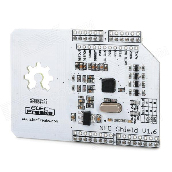 PN532 NFC / RFID Shield Wireless Communication Module w/ Philips Mifare Card for Arduino gsm gprs shield wireless extension board module w antenna adapter for arduino