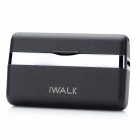 iWalk MFi Mini 1000mAh External Docking Backup Battery Charger for Iphone 4 / 4S / Ipod - Black