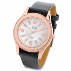 Y.B 791 Fashion Analog Quartz Wrist Watch for Women - Black