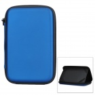 "Protective PU Inner Pouch Case w/ Speaker + Holder for 7"" Tablets - Blue"