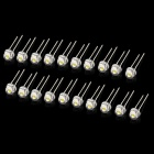 0.06W 6500K 2800MCD LED White Light Emitting Diodes - White (20 PCS)
