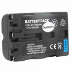 DSTE NP-FM500H 7.4V 2300mAh Battery for Sony FM500H/A65/A77/A450/A560/A580/A850/A900/A100 - Black
