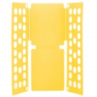 LR-02 Flip Clothes Shirt Folder Folding Board Organizer - Yellow