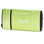 CR805 High-speed Multi-functional USB 3.0 5Gbps SD / TF / SDHC / MMC + More Card Reader (64GB)