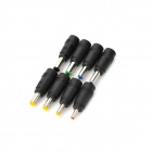 Universal DC adaptadores de energia para laptop / notebook / LED - Preto (8 PCS)