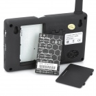 "SY359MJ12 3.5"" TFT 2.4GHz Wireless 300KP Digital Video Door Phone w/ Night Vision - Black"