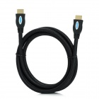 WU012 HDMI v1.4 Male to Male Connection Cable for Wii U - Black (180cm)