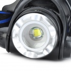 SingFire SF-535 Cree XM-L T6 910lm 3-Mode White Zooming Headlamp - Black (4 x AA)